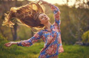 Cuidado natural do cabelo na minha rotina de beleza